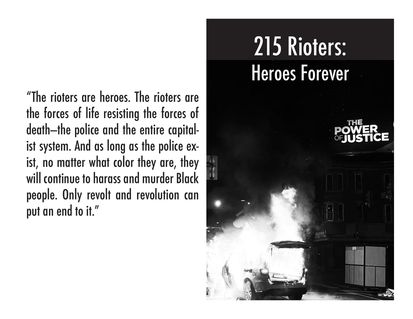 215 Rioters Zine Cover