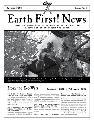 Earth First! News Cover