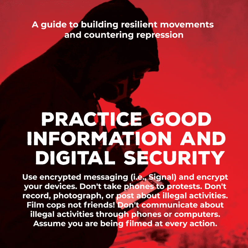 Movement Defense: Practice Good Information and Digital Security