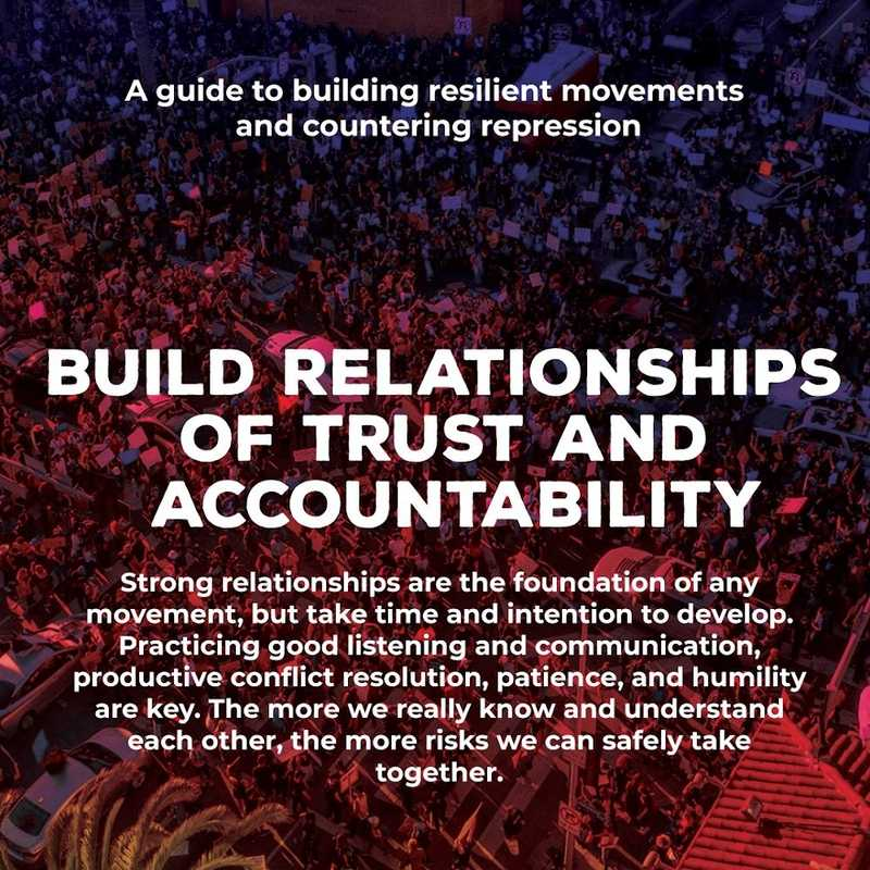 Movement Defense: Build Relationships of Trust and Accountability