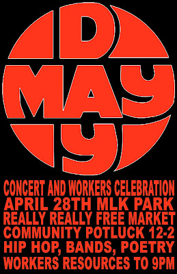 Grand Rapids IWW May Day 2012 Poster