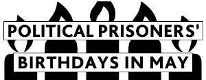 Political Prisoner Birthday Poster – May 2013