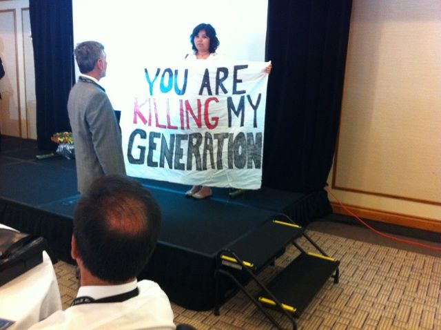 Tar Sands Conference Disrupted in Sarnia