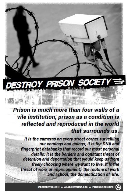 Poster: Destroy Prison Society