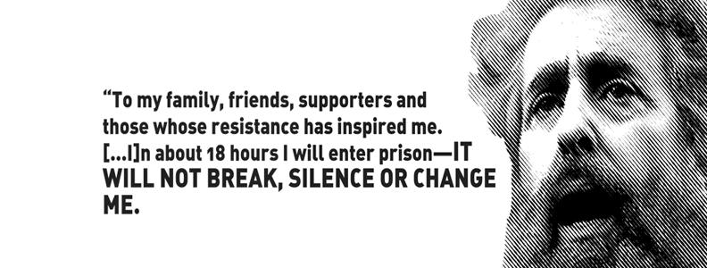 Political Prisoner Birthday Poster For December 2015