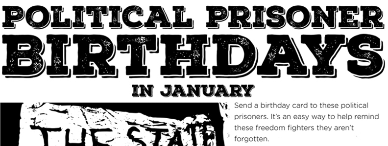 January Political Prisoners Birthday Poster