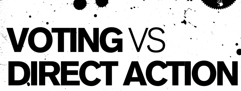 Featured Zine: Voting vs. Direct Action