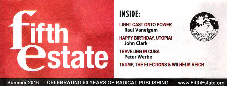 Fifth Estate #396 Out Now