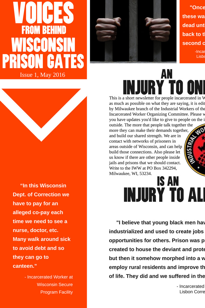 Voices from Behind Wisconsin Prison Gates