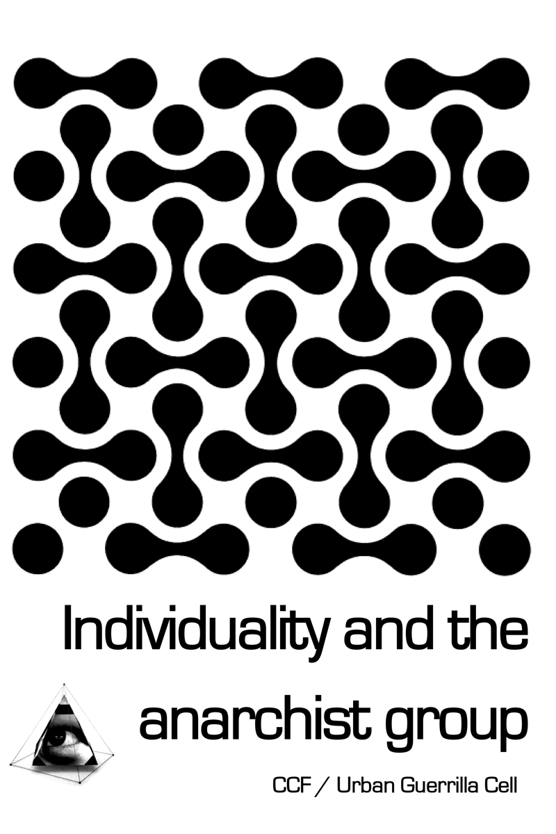 cover individuality and the anarchist group