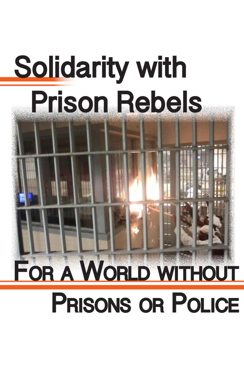cover solidarity with prison rebels