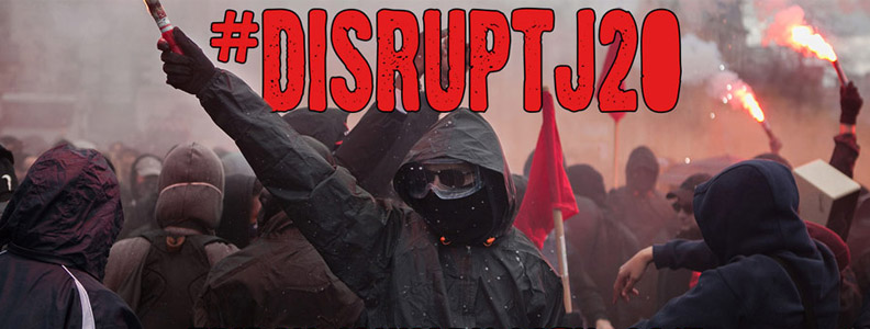 No Peaceful Transition – #DisruptJ20