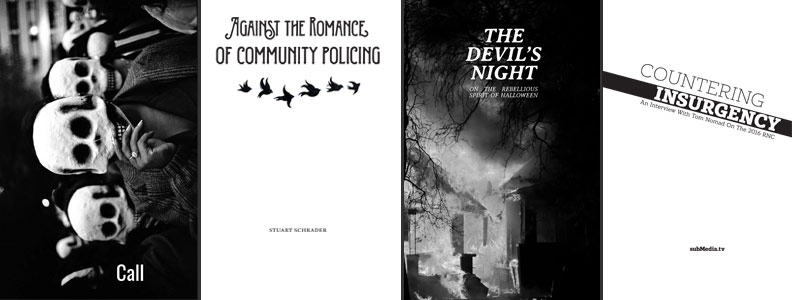 Zines and Pamphlets Published in October 2016