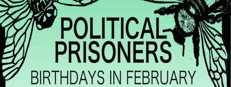 Political Prisoner Birthday Poster For February
