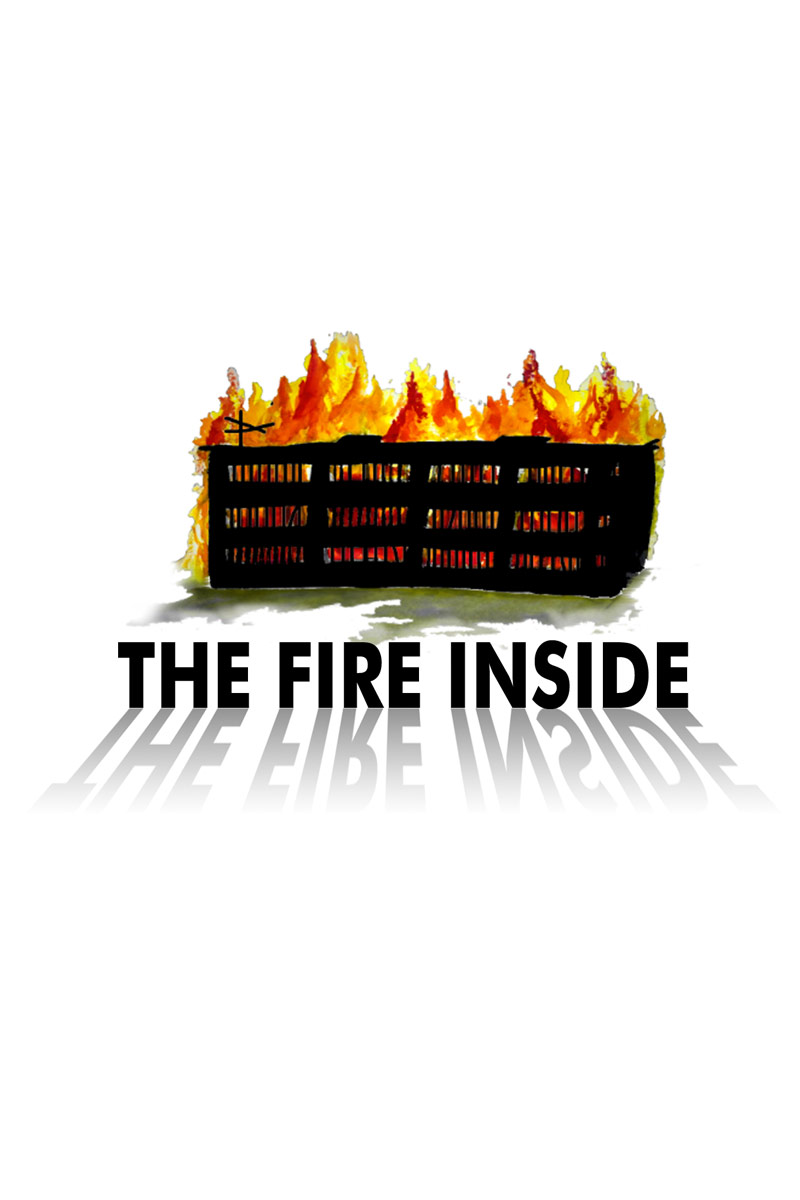 fire inside zine cover