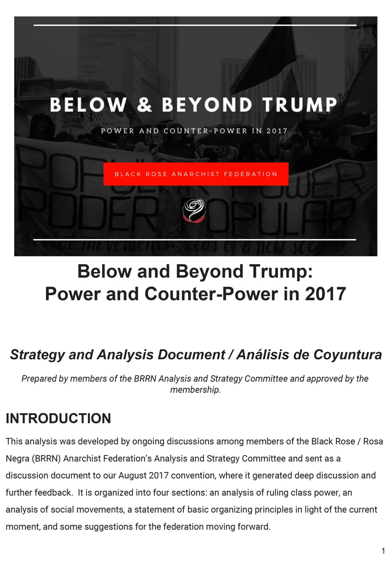 below and beyond trump cover