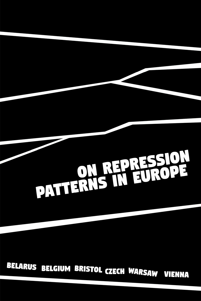 on repression patters in europe zine cover