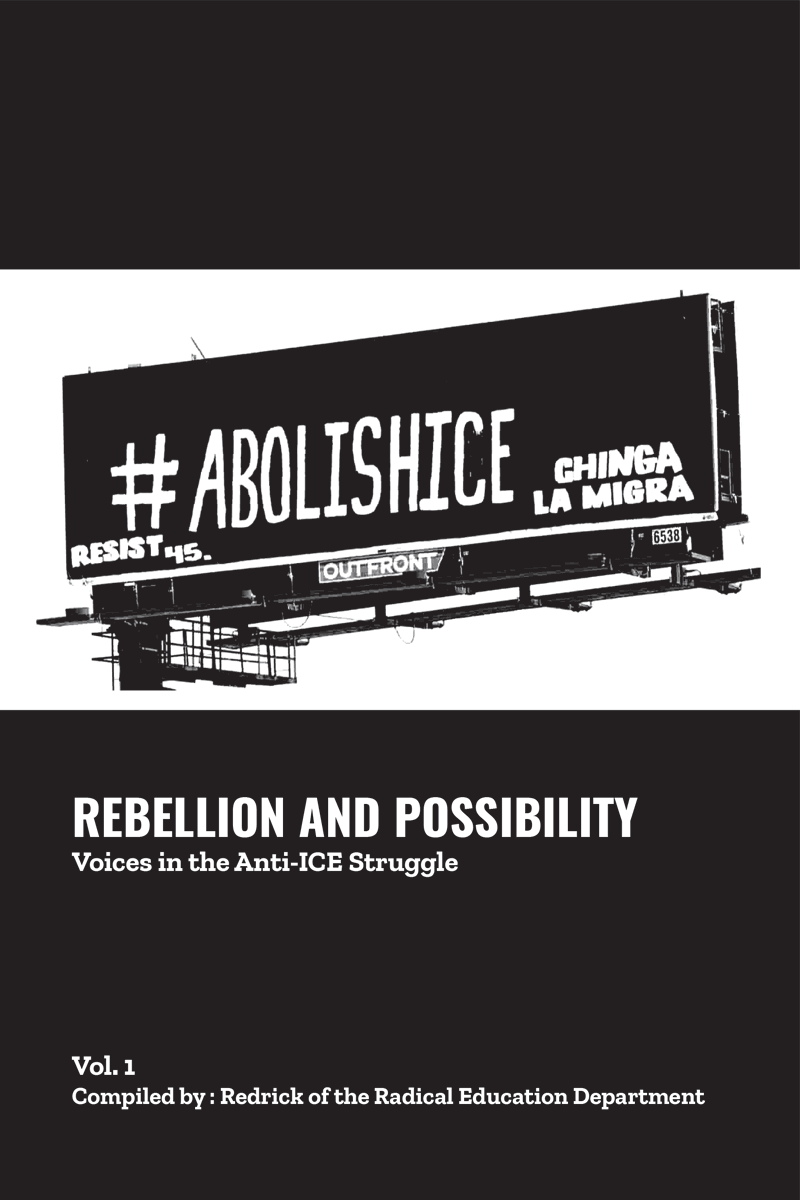 rebellion and possibility zine cover